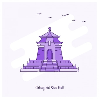 Chiang kai shek-zaal oriëntatiepunt