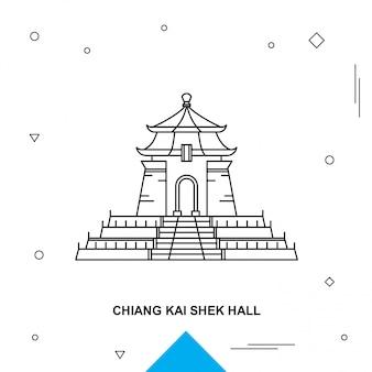 Chiang kai shek zaal