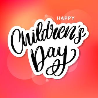 Children's dag achtergrond