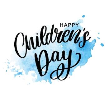 Children's dag achtergrond.