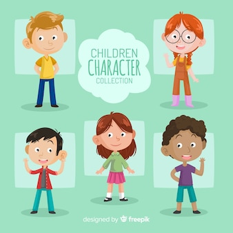 Childrens day characters pack