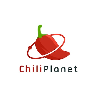 Chili planeet logo sjabloon download