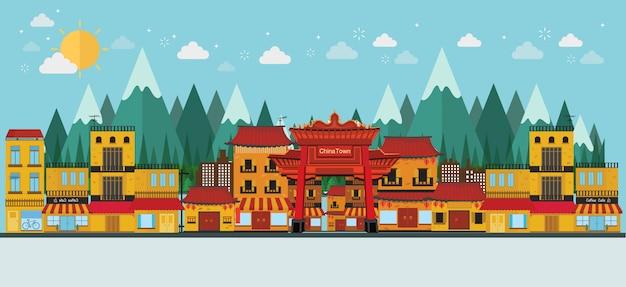 China beroemde toeristische attracties