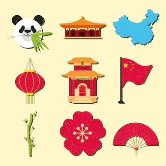 China pictogrammenset