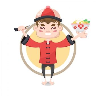 Chinees karakter illustratie