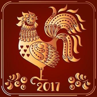 Chinees nieuwjaar achtergrond ontwerp