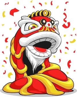 Chinees nieuwjaar lion