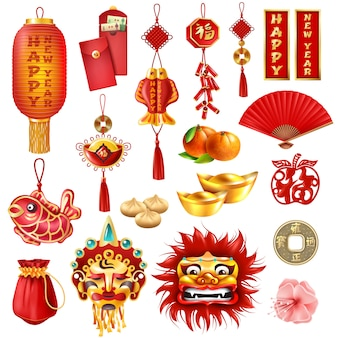 Chinees nieuwjaar set