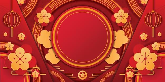 Chinees spandoekontwerp. vector illustratie