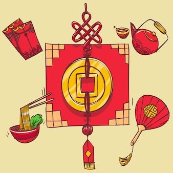 Chinese gouden munt
