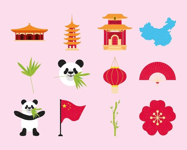 Chinese symbolen set