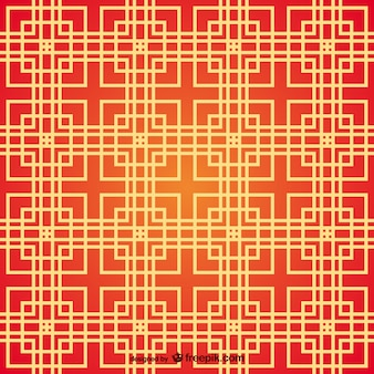 Chinese vierkanten patroon