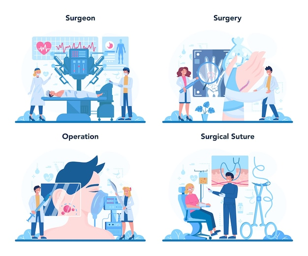 Chirurg online service of platform ingesteld.