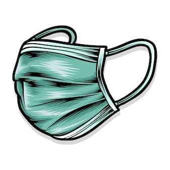 Chirurgie masker logo afbeelding