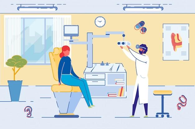 Chirurgie om het gezichtsvermogen te herstellen of controle van de optometrist.