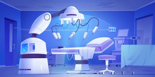 Chirurgisch laboratorium geïllustreerde achtergrond