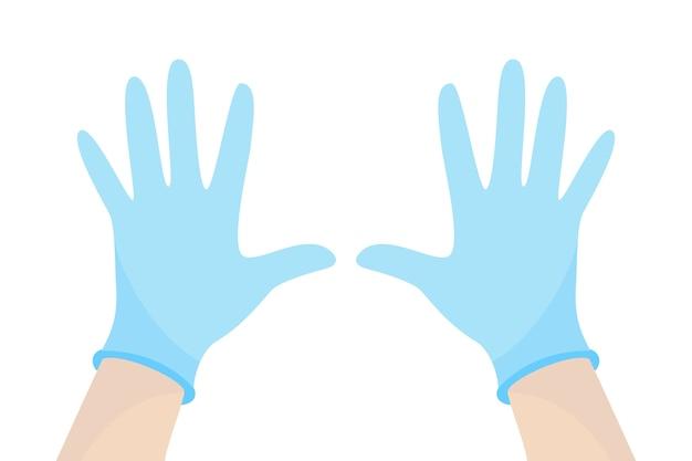 Chirurgische beschermende handschoenenstijl