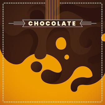 Chocolade achtergrond