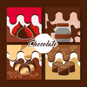 Chocolade cacaokaart