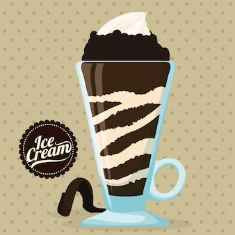 Chocolade ontwerp.