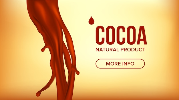 Chocolade splash