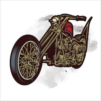 Chopper motorfiets