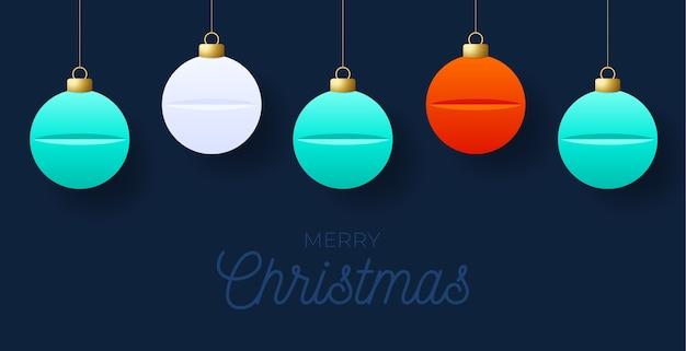 Christmas wenskaart geneeskunde concept. geneeskunde en gezondheidszorg pillen tablet kerstballen