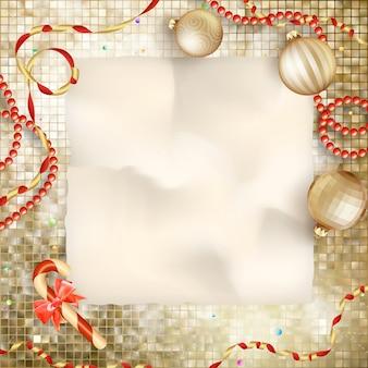 Christmas wenskaart.