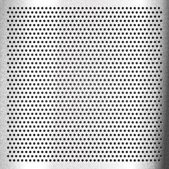 Chroom - bekrast metalen blad, vector 10eps