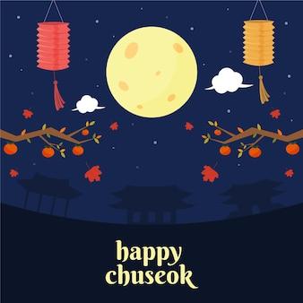 Chuseok festival concept