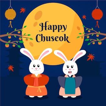 Chuseok festival ontwerp