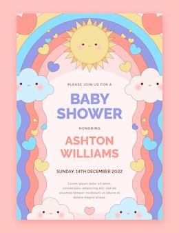Chuva de amor baby showeruitnodiging