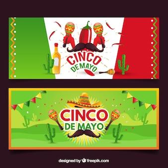 Cinco de mayo-banners