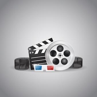 Cinema elementen ontwerp