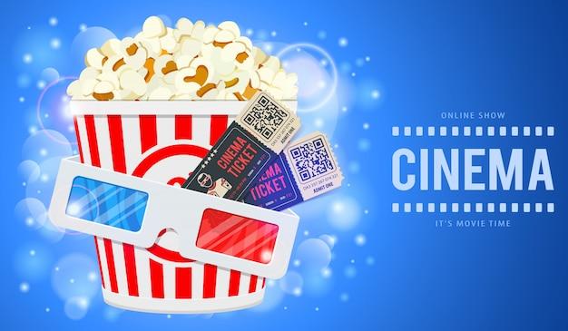 Cinema en film illustratie