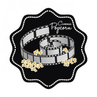 Cinema iconen ontwerp