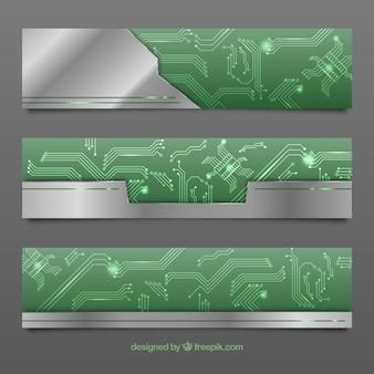 Circuit banners