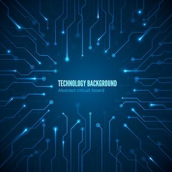 Circuit hardware textuur. computerchipset-verbinding. concept van printplaat achtergrond.