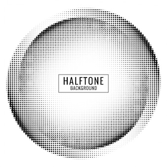 Circulaire halftone achtergrond