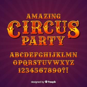 Circus alfabet