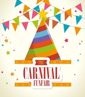 Circus-carnaval entertainment
