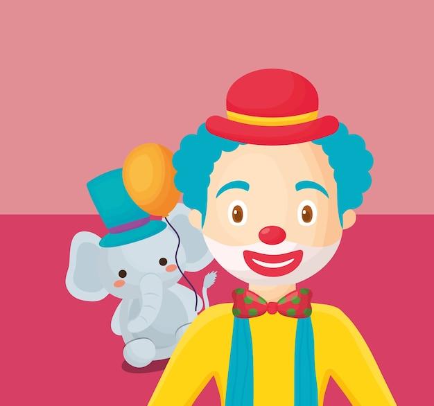Circus carnaval ontwerp