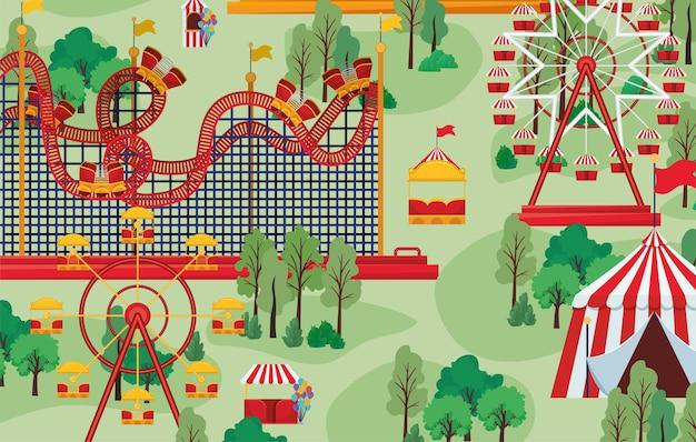 Circus en attracties