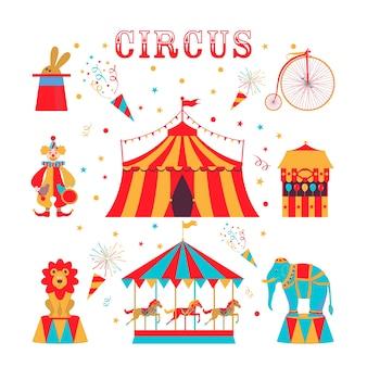 Circus ingesteld