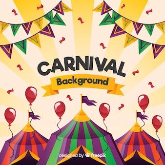 Circus kleurrijke achtergrond