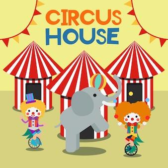 Circus poster illustratie vector