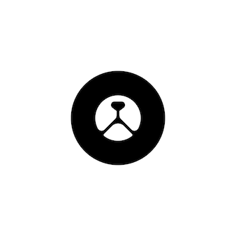 Cirkel bear head-logo