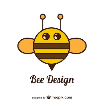 Cirkel bee vector design
