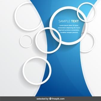 Cirkel outline achtergrond sjabloon