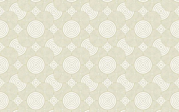 Cirkel patroon achtergrond ontwerp